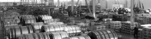 Крытый склад металлопроката в Екатеринбурге